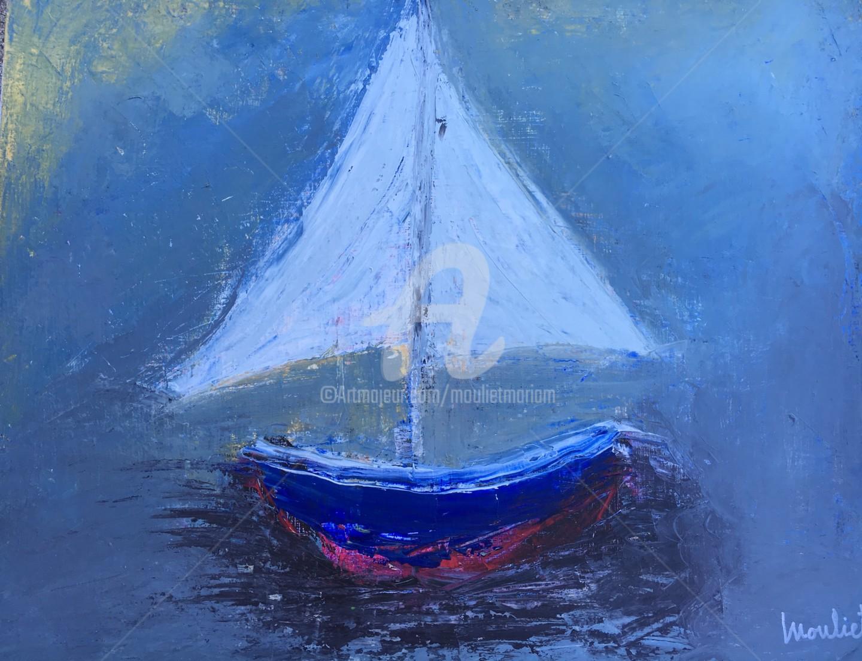 Mariam Mouliets - Voilier bleu
