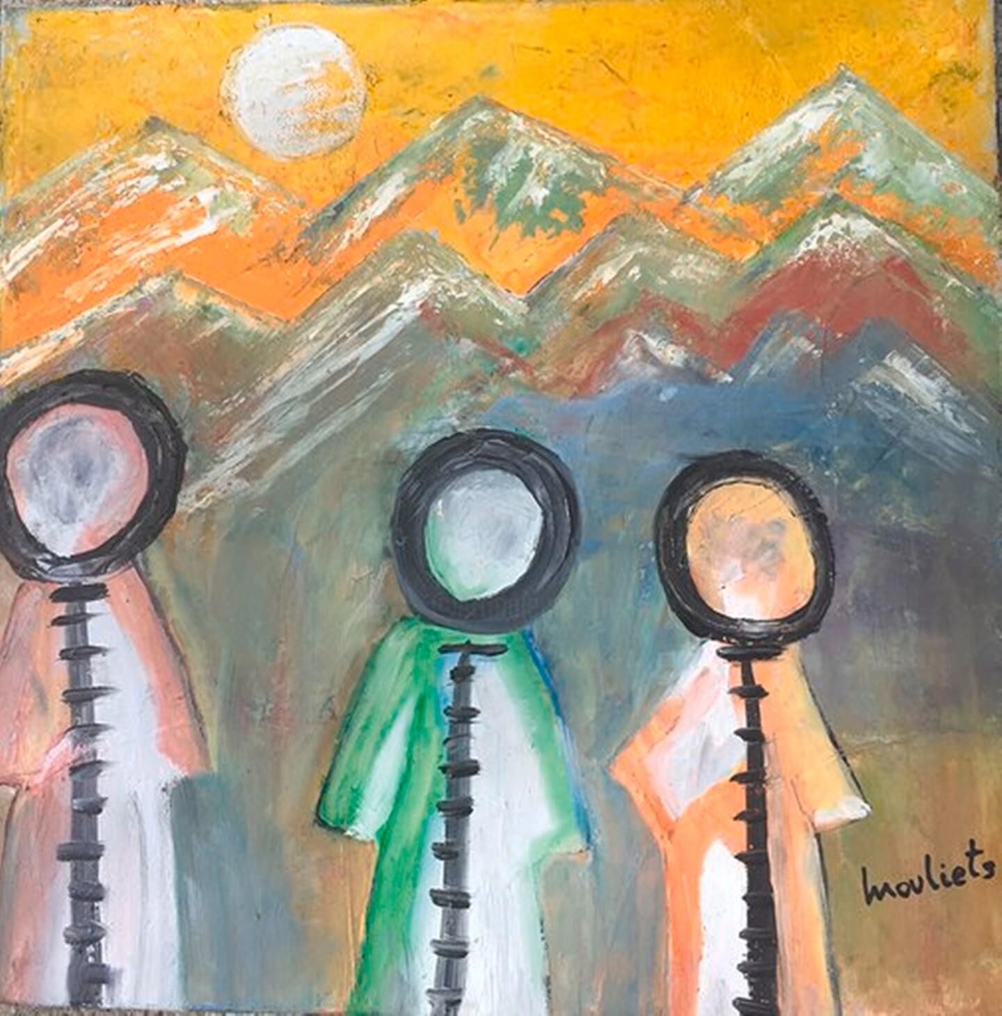 Mariam Mouliets - Les troismoines