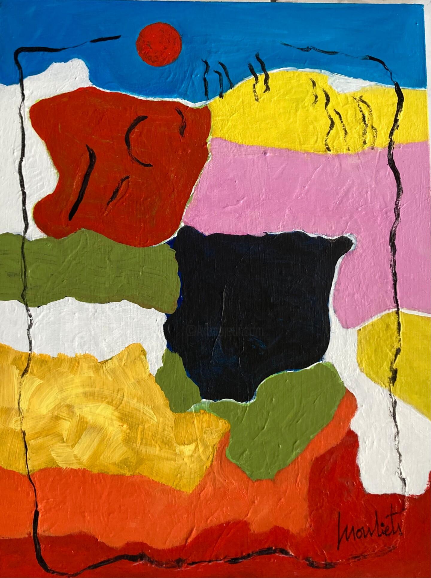 Mariam Mouliets - Paysage d'automne