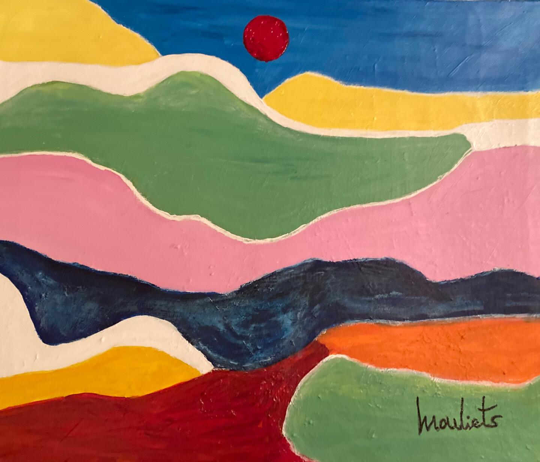 Mariam Mouliets - Paysage solitaire
