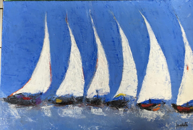 Mariam Mouliets - Pirogues à voiles