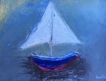 Voilier bleu
